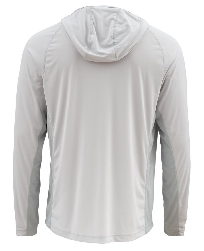 946582315 Simms Solarflex Hoody - Color Tundra - New for 2018