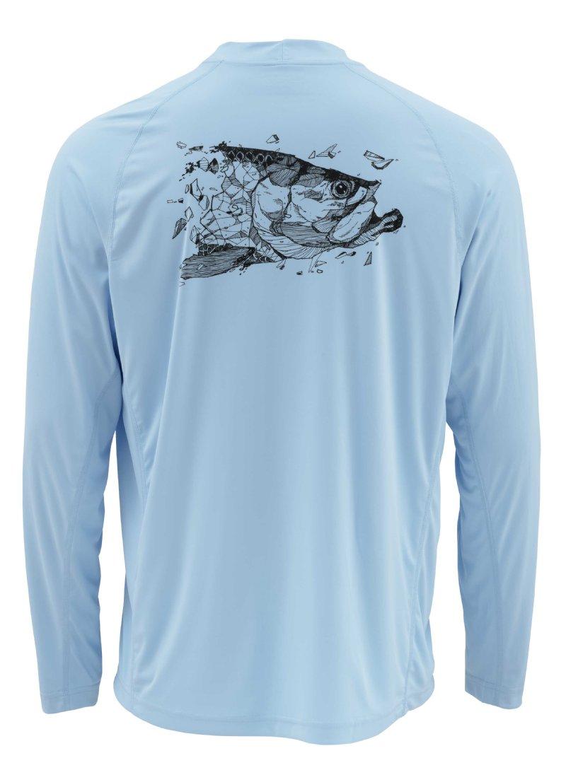 Simms solarflex ls crew for Best fishing clothing