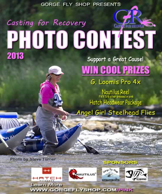 Gorge Fly Shop: Casting for Recovery Photo Contest