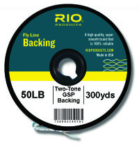 RIO Gel Spun Backing - Two Tone - 50lb / 100yd