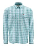 Simms Big Sky LS Shirt - Color Teal Plaid