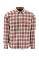 Simms Coldweather LS Shirt - Boulder Plaid