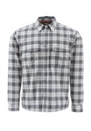 Simms Coldweather LS Shirt - Dark Shadow Plaid