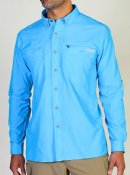 Exofficio Triflex Hybrid Shirt - Color Malibu