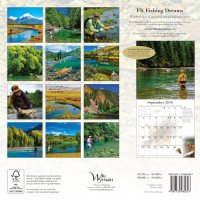 2016 Fly Fishing Dreams Calendar by David Lambroughton