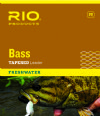RIO Bass Leaders - 3 Pack