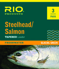 RIO Steelhead / Salmon Leaders  3-Pack