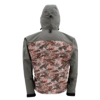 Simms G3 Guide Jacket - Catch Camo Orange
