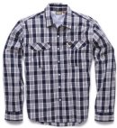 Howler Gaucho SnapShirt - Roundup Plaid - Airline Blue