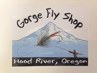 Gorge Fly Shop Stick-on logo