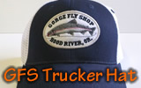 GFS Trucker Hat: Gorge Fly Shop Logo Hat
