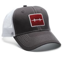 Hatch Caps - Icon Trucker Grey
