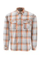 Simms Kenai LS Shirt - Grey Plaid