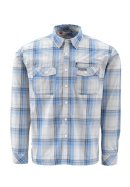 Simms Kenai LS Shirt - Wave Plaid