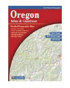 Delorme Oregon Atlas and Gazetteer