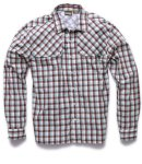 Howler Pescador Shirt - Plaid Burgundy