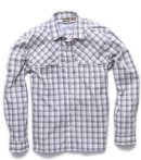 Howler Pescador Shirt - Plaid Zeppelin Grey