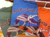 Gorge Fly Shop Logo T-Shirt - New for 2013