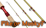 Sage Bass: Pike and Musky Rods