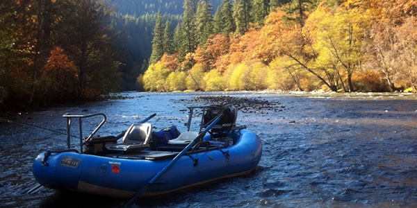 Lost lake resort campground hood river oregon for Fly fishing pontoon boats