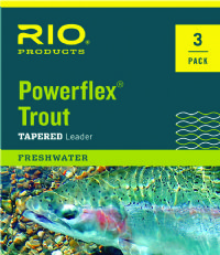 RIO Powerflex Trout Leaders 3-Pack