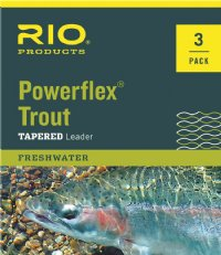 Rio Powerflex Trout Leaders 7.5' & 9' 3-Pack