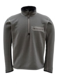 Simms Montana TechWool Zip-Top - Gunmetal