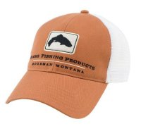 Simms Trout Trucker Cap - Simms Orange