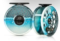 Abel Switch Reel w/Chrome Steelhead Finish - FREE LINE