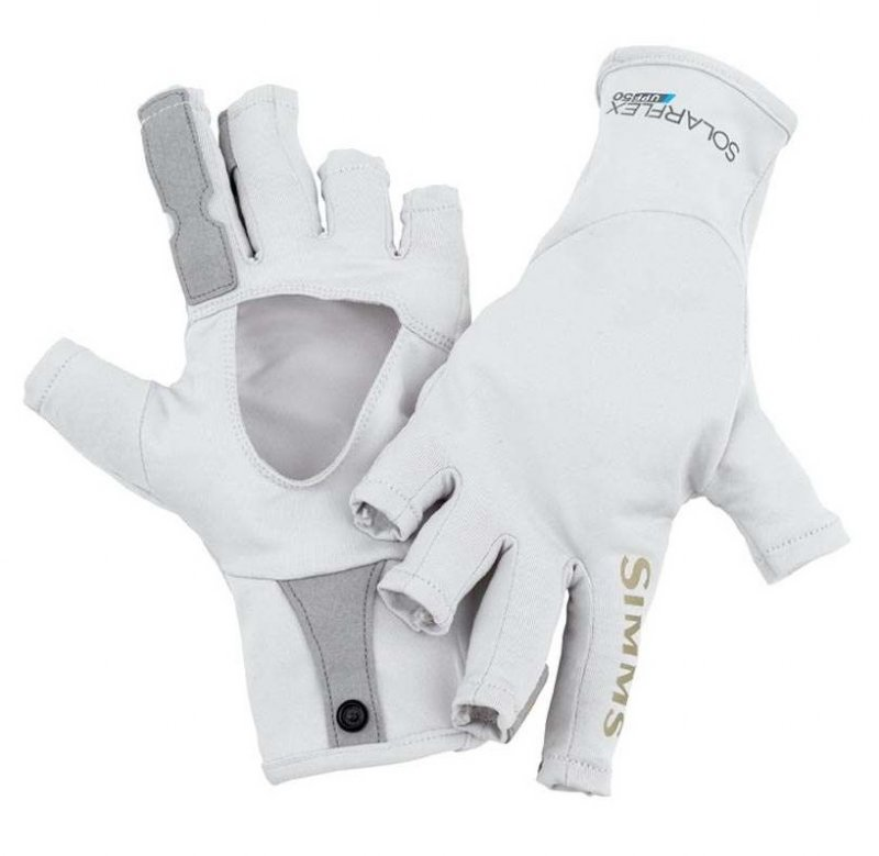 Simms solarflex sungloves for Fly fishing gloves