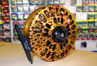 Abel Super 5N Fly Reel with Brown Trout Finish