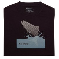 Sage Splashing Tarpon Tee - Black