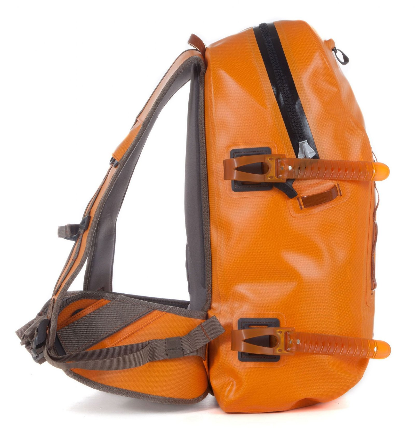 NEW FISHPOND THUNDERHEAD SUBMERSIBLE BACKPACK IN ORANGE FREE US SHIPPING