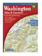 Delorme Washington  Atlas andv Gazetteer