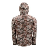 Simms Windstopper Softshell Hoody - Catch Camo Orange